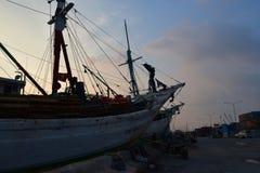 Паркуя корабль Стоковое Изображение