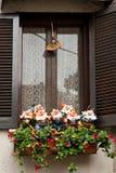 Парк Абруццо, украшенное окно Стоковые Фото