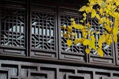 Парк акварели Китая Rugao стоковое изображение rf