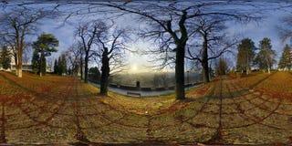 Парк акрополя (uia› Parcul CetăÈ) в cluj-Napoca, Румынии Стоковое Изображение