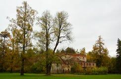 Парк Александра в Tsarskoe Selo Стоковая Фотография RF