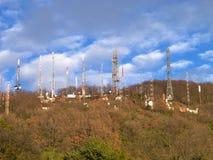 Антенны радиосвязей Стоковые Изображения RF