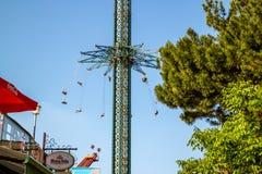 Парк атракционов в вене стоковое фото