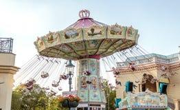 Парк атракционов в вене стоковое фото rf