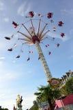 Парк атракционов в Париже городском Стоковые Изображения