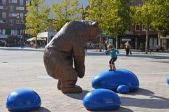 Парк атракционов в Hengelo, Голландии стоковое изображение rf