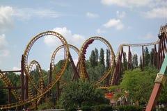 Парк атракционов Диснейленда для детей Парижа, Франции Стоковое Фото