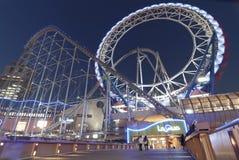 Парк атракционов купола Токио Стоковая Фотография