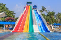Парк атракционов Сиама Стоковые Изображения