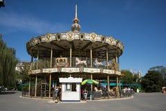 Парк атракционов, современная архитектура Стоковое Изображение