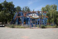 Парк атракционов, современная архитектура Стоковое Фото