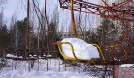 Парк атракционов Pripyat Стоковое Фото