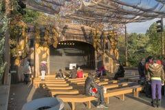 Парк атракционов Ronde Ла ягнится театр Стоковая Фотография RF