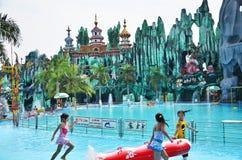 Парк атракционов Suoi Tien Стоковая Фотография RF
