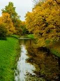 Парк Александра осенью Стоковая Фотография RF