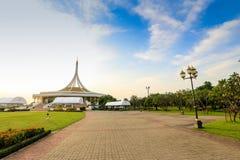Парк Бангкок rama 9 короля стоковая фотография rf