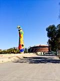 Парк Барселона Джоан Miro стоковые фотографии rf