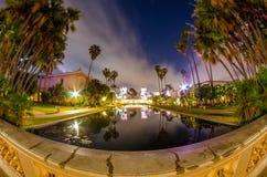 Парк бальбоа, Сан-Диего, CA Стоковая Фотография RF