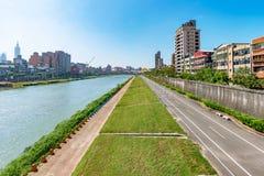 Парк берега реки Тайбэя Стоковые Фотографии RF
