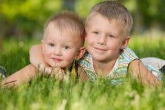 парк братьев счастливый Стоковое Фото