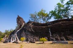 Парк Будды в Вьентьян, Лаосе Ориентир ориентир o известного перемещения туристский Стоковое Изображение RF