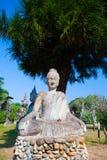 Парк Будды в Вьентьян, Лаосе Ориентир ориентир o известного перемещения туристский Стоковое Изображение