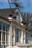Парк Варшавы Lazienki Стоковые Фотографии RF