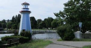 Парк Веллингтона в Simcoe, Канаде 4K видеоматериал