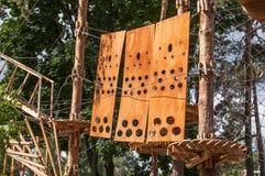 Парк веревочки Стоковые Фото
