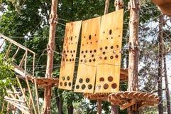 Парк веревочки Стоковое Изображение