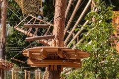 Парк веревочки Стоковые Изображения RF