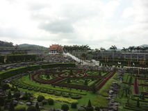 Парк Версаль в Nong Nooch Стоковая Фотография