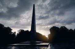 Парк вечной славы в Киеве стоковая фотография rf