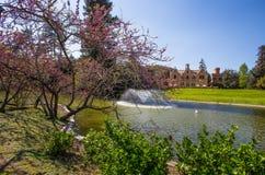 Парк Виллы Serra di Comago, Генуя Genova, Италия стоковые фото