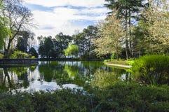Парк внутри Palacio делает Cristal, Порту, Португалию Стоковое фото RF