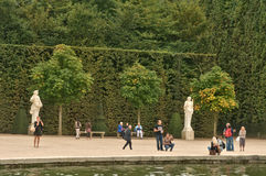Парк дворца Версаль Стоковые Изображения RF
