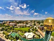 Парк всемирнаяа ярмарка Ноксвилла Стоковые Изображения RF