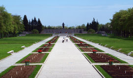 парк входа мемориальный к Стоковое Изображение RF