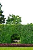 парк входа стоковое изображение