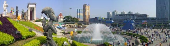 парк входа зрелищности Стоковое Изображение RF