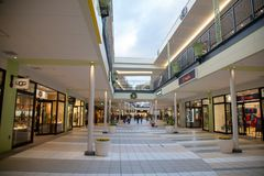 Парк выхода Nagashima с серией магазина стоковое изображение