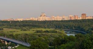 Парк в городе Стоковое фото RF