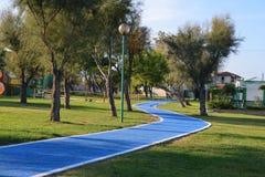 Парк в зеленом цвете Стоковое Фото