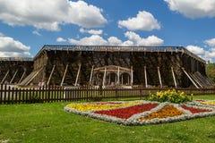 Парк в курорте Стоковые Фотографии RF