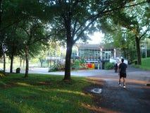 Парк в Монреале, ¡ Canadà Стоковые Фотографии RF