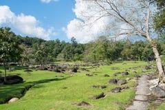 Парк в национальном парке горячего источника клыка Стоковая Фотография