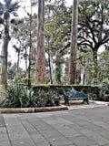 парк в перемещении стоковая фотография rf