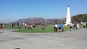 Парк в холмах Стоковое Фото
