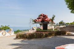 Парк влюбленности в Miraflores Лиме Стоковое фото RF