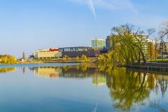 Парк в cluj-Napoca Стоковое Изображение